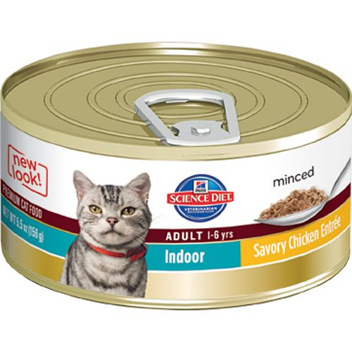 Science Diet Indoor Savory Chicken Cat Food 3oz