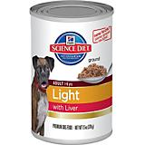 Science Diet Light Liver Can Dog Food 12 Pack