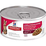 Science Diet Liver/Chicken Entree Cat Food