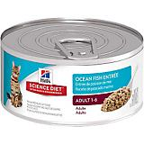 Science Diet Ocean Fish Entree Can Cat Food