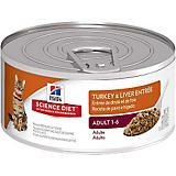 Science Diet Turkey/Liver Can Cat Food