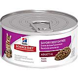 Science Diet Gourmet Beef Entree Cat Food