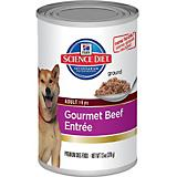 Science Diet Gourmet Beef Entree Can Dog 12 Packs