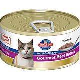 Science Diet Gourmet Beef Mature Cat Food