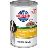 Science Diet Gourmet Chicken Can Puppy Food 12 Pk