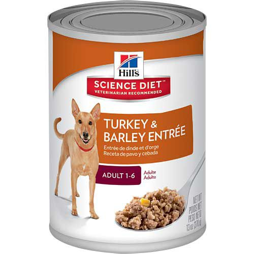 Hill's Science Diet Adult - Gourmet Turkey Entree - 12 x 13 oz