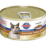 Science Diet Gourmet Turkey Mature Cat Food