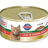 Science Diet Liver/Chicken Kitten Food
