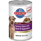 Science Diet Savory Stew Beef Can Dog Food