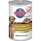 Science Diet Savory Stew Chicken Can Dog Food