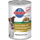 Science Diet Savory Stew Chicken Can Puppy Food