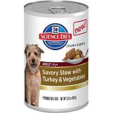 Science Diet Savory Stew Turkey Can Dog Food