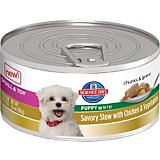 ScienceDiet Savory Stew Chicken Toy Can Puppy Food