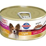 Science Diet Small/Toy Liver Light Can Dog Food