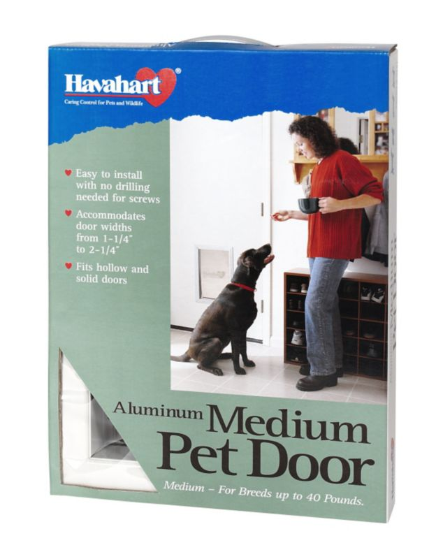 Havahart Aluminum Pet Door Medium