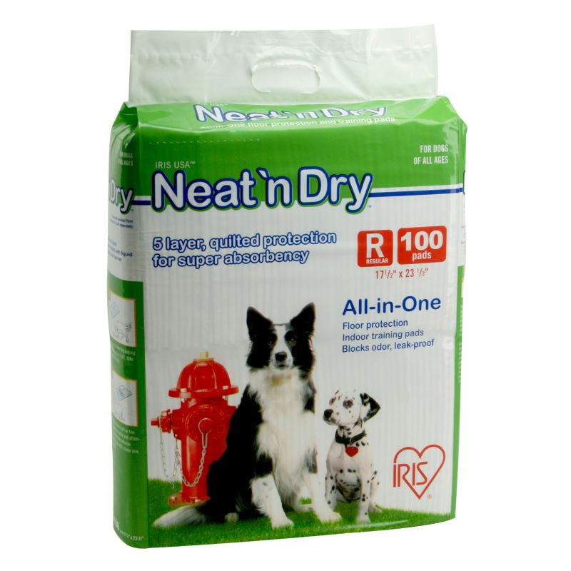 Neat n Dry Puppy and Dog Training Pads 100 Pack