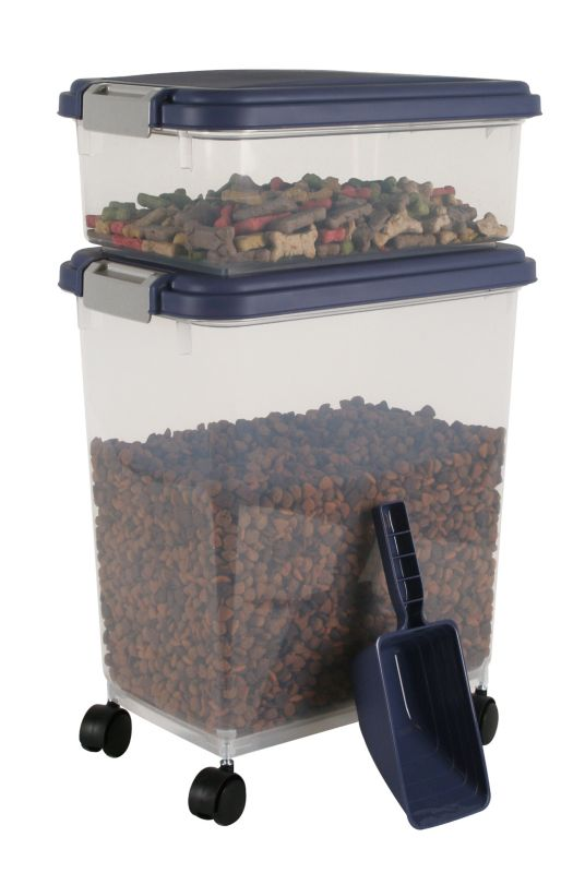 Iris Airtight Food Storage and Scoop Combos Indigo