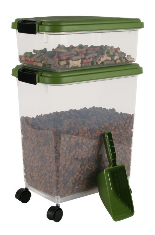 Iris Airtight Food Storage and Scoop Combos Green