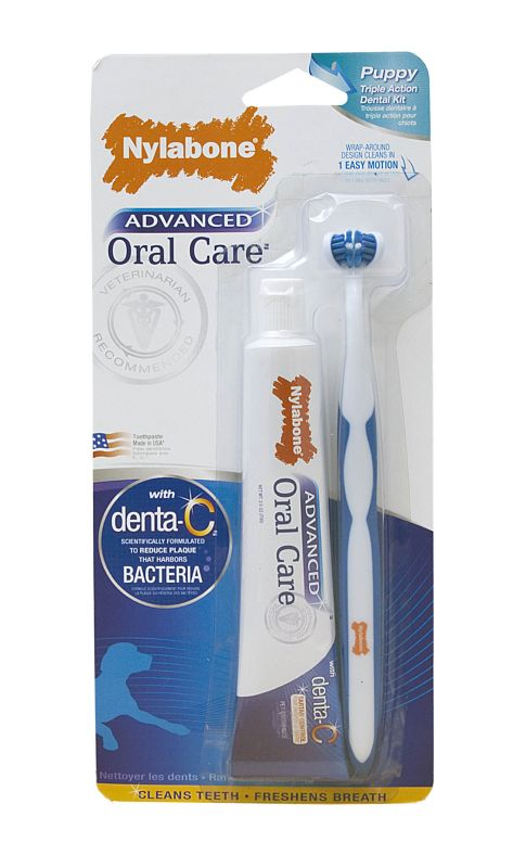 Advanced Oral Care Triple Action Puppy Dental Kit