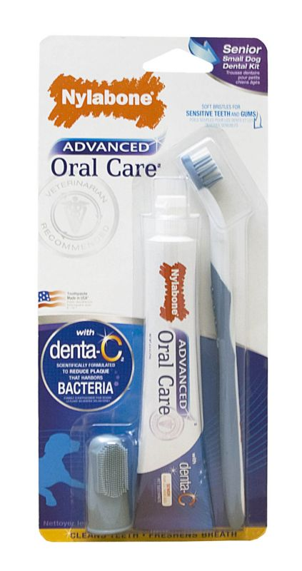 Advanced Oral Care Senior Dog Dental Kit Small