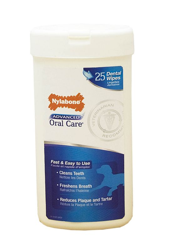 Advanced Oral Care Dog Dental Wipes for Dogs