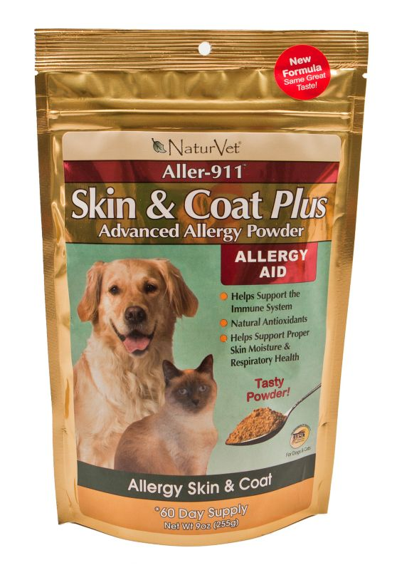 Aller-911 Allergy Aid Pet Supplement Powder