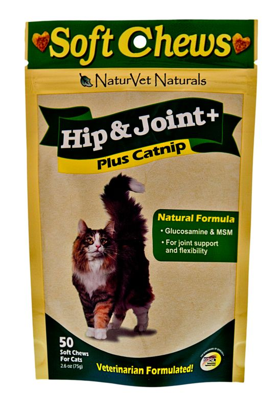 NaturVet Hip and Joint Care Cat Treat