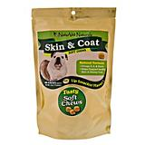 NaturVet Skin and Coat Soft Chew Dog Treat