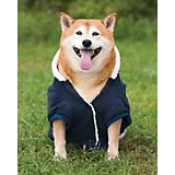 Fashion Pet Blue Sherpa Warm-Up Dog Coat