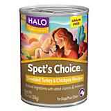 Halo Spots Choice Grain Free Turkey Can Dog Food
