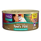 Halo Spots Pate Grain Free Whitefish Can Cat Food