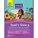 Halo Spots Stew Small Breed Turkey Dry Dog Food