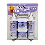 Nutri-Vet Ear Cleansing Kit for Dogs