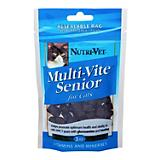 Nutri-Vet Multi-Vite Soft Chew Senior Cat Vitamin