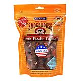 Smokehouse Porky Pizzle Twists Dog Treat