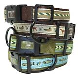 Hamilton Products Green Stripe Dog Collar