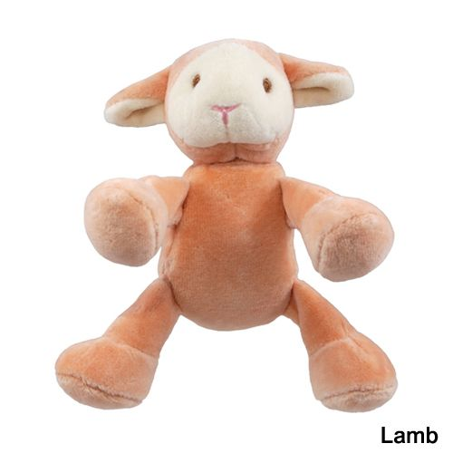 Simply Fido Beginning Plush Dog Toy Cow