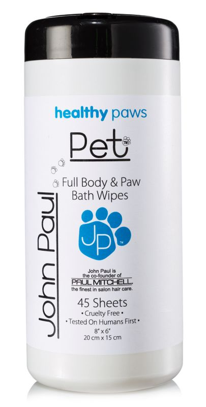 John Paul Pet Body and Paw Pet Wipes