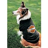 Harley Bar and Shield Dog T-Shirt