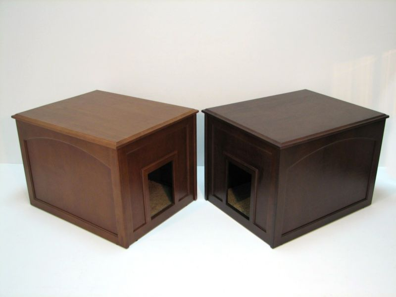 Crown Pet Doggie Den Indoor Doghouse Mahogany
