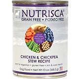 Nutrisca Grain Free Chicken Can Dog Food 12 Pack
