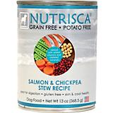 Nutrisca Grain Free Salmon Can Dog Food 12 Pack