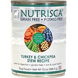 Nutrisca Grain Free Turkey Can Dog Food 12 Pack