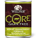 Wellness CORE Weight Management Can Dog Food 12 Pk