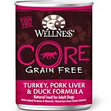 Wellness CORE Turkey/Pork Liver/Duck Can Dog Food