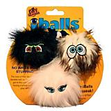 Silly Squeaker Iballs Small Tri Pack Dog Toy