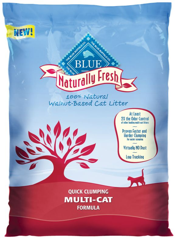 BLUE Naturally Fresh Multi-Cat Clumping Litter 17