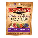 Evangers Natural Buffalo Jerky Dog Treat