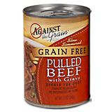 Evangers Against the Grain Pulled Beef Dog Food