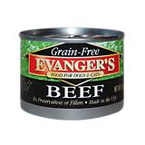 Evangers Grain Free 100 Beef Can Pet Food
